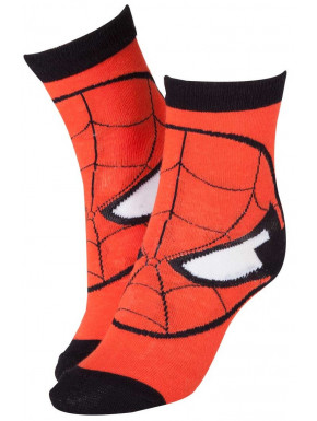 Calcetines Spiderman Mask Marvel