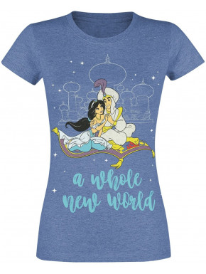 Camiseta Chica Disney Aladdin A Whole New World