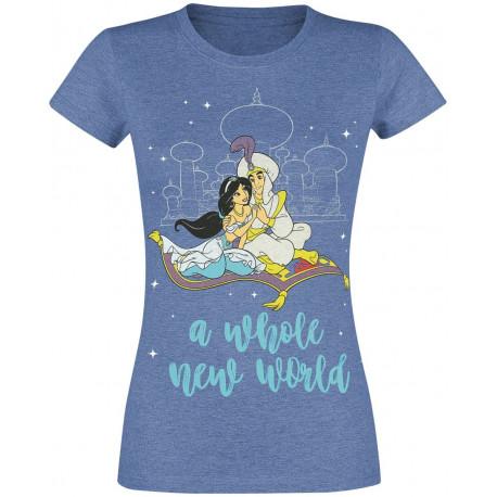 Camiseta Chica Disney Aladin A Whole New World