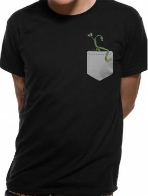 Camiseta Animales Fantásticos Pickett Bolsillo
