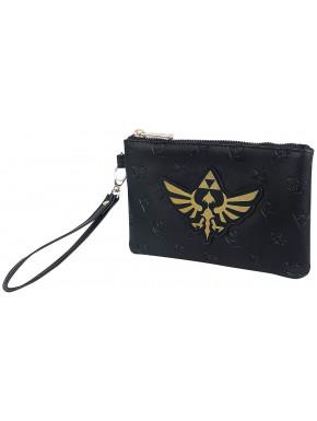 Bolso Pouch Zelda Escudo Dorado
