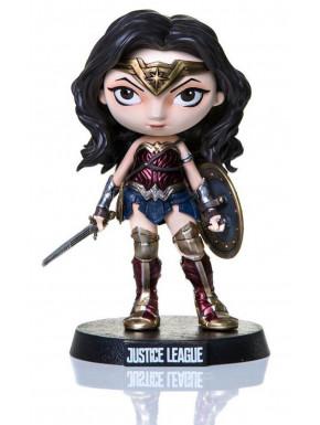 Figura Wonder Woman Liga de la Justicia 13 cm