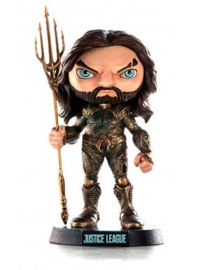 Figura Aquaman Liga de la Justicia 13 cm