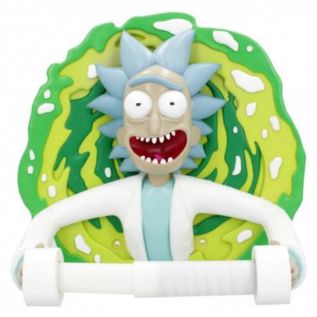 Porta rollos Rick y Morty Rick