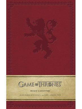 Libreta Juego de Tronos Lannister Premium