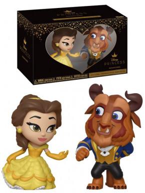 Set de 2 Figuras La Bella y la Bestia Disney Funko