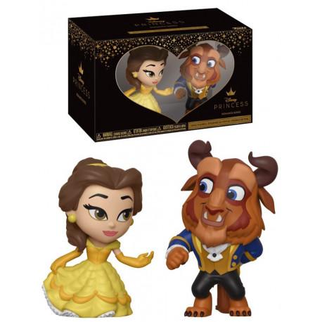 Set de 2 Figuras Bella y Bestia Disney