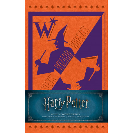 Libreta Weasleys' Wizard Wheezes Harry Potter