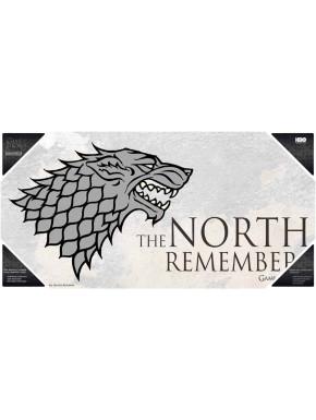 Poster vidrio Juego de Tronos Stark North Remembers