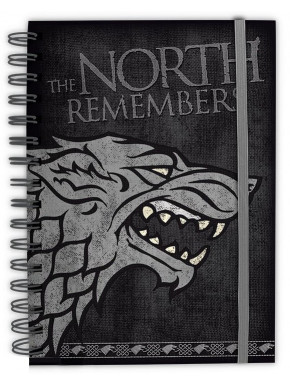 Libreta Premium A5 Juego de Tronos The North Remember