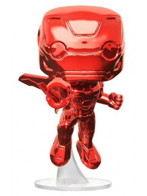 Funko Pop! Iron Man Cromado Rojo Marvel