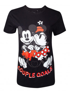 Camiseta Chica Disney Mickey y Minnie Mouse Couple Goals