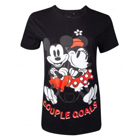 Camiseta Disney Mickey y Minnie Mouse Couple Goals