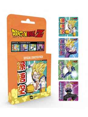 Set 4 posavasos Dragon Ball Z