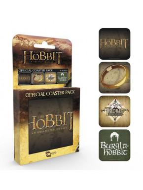 Set 4 posavasos El Hobbit