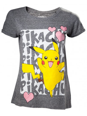 Camiseta Chica Pikachu Love Pokemon