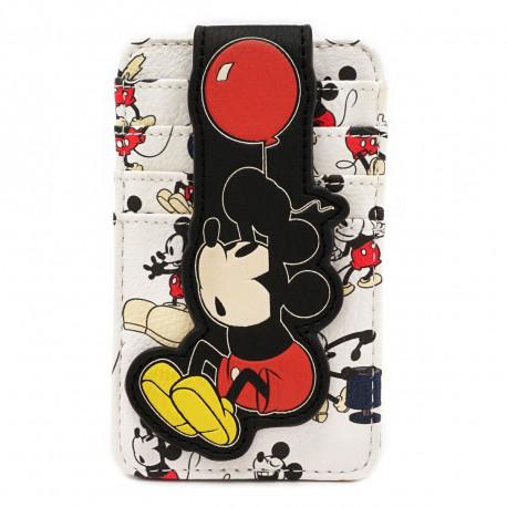 Tarjetero Loungefly Mickey Mouse Disney