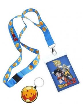 Llavero con Cinta y Llavero Caucho Goku Dragonball Z