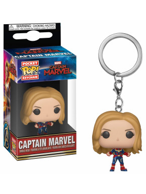 Llavero mini Funko Pop! Capitana Marvel