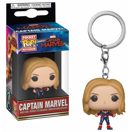 Llavero mini Funko Pop! Capitana Marvel