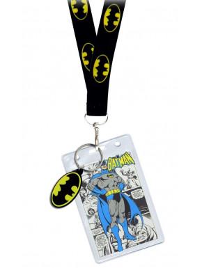Llavero y cinta identificador Batman