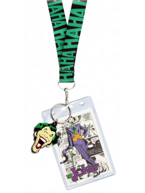 Llavero y cinta identificador Joker