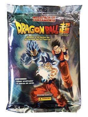 Megapack 4 sobres + Álbum Trading Cards Dragon Ball Panini