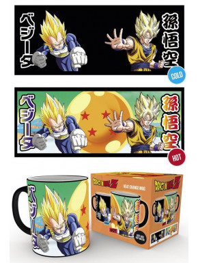 Taza térmica Saiyan Dragon Ball