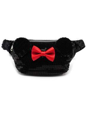 Riñonera de Lentejuelas Loungefly Minnie Mouse Disney