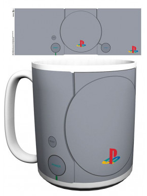 Taza Playstation One  XL Consola