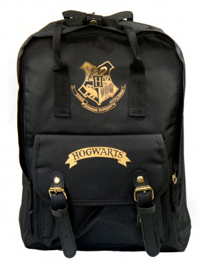 Mochila Harry Potter Hogwarts Black