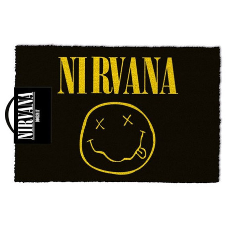 Felpudo coco Nirvana Smiley