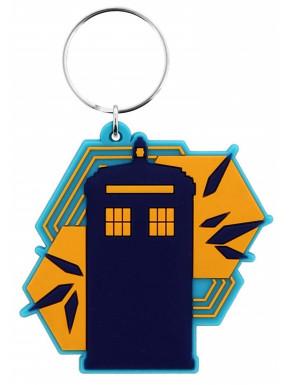 Llavero Caucho Tardis Doctor Who