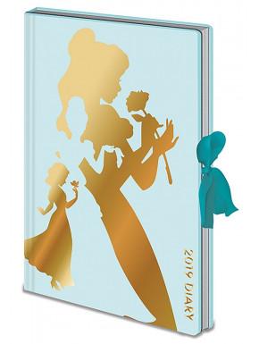 Libreta Diario Disney Princesas 2019