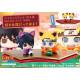 Set 2 Figuras Naruto Sasuke Maneki-Neko y Maneki-Kyubi Petit Chara Land 4.5 cm