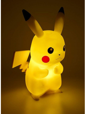 Lámpara LED Pikachu Pokemon 30 cm