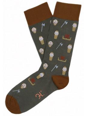 Calcetines Vikings Ragnar y Floki