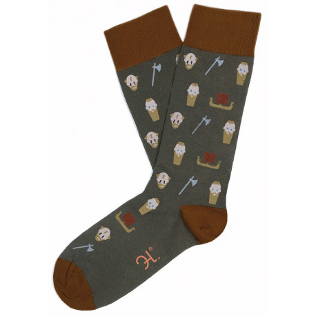 Calcetines Vikingos Ragnar y Loki