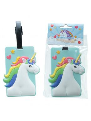 Identificador de equipaje Unicornio