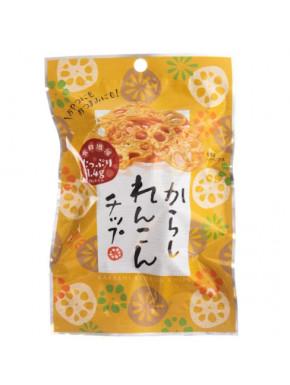 Snack de Raiz de Loto Sabor Mostaza Renkon Chips