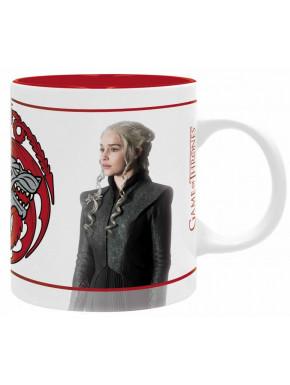 Taza Jon y Daenerys Juego de Tronos