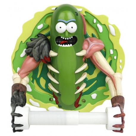 Porta rollos Rick y Morty Pickle Rick