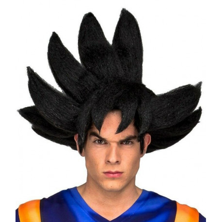Peluca cosplay Goku Dragon Ball