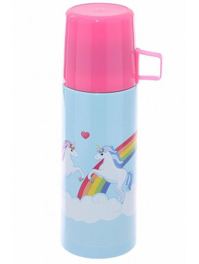 Termo Botella Unicornios 350 ml