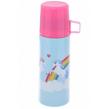 Termo Botella Unicornios 350 ml