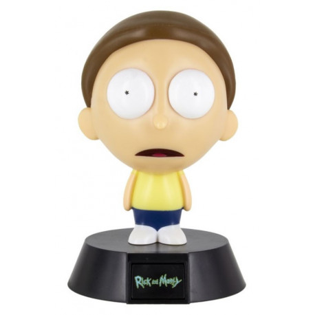 Lámpara 3D Morty Rick y Morty