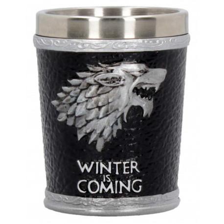 Vaso de chupito Deluxe Stark Juego de Tronos