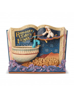 Figura Aladdin Romance Takes Flight Jim Shore Disney