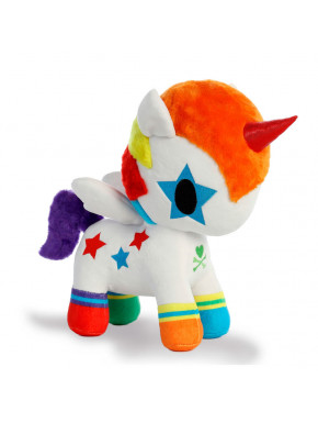 Peluche Bowie Unicornio Arcoiris