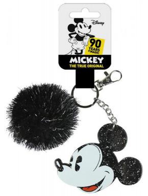 Llavero Mickey Mouse con Pompón